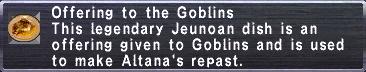 Goblin Offering