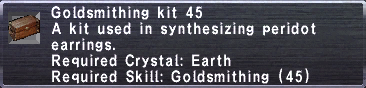 Goldsmithing Kit 45