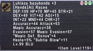 Luhlaza bazubands +3
