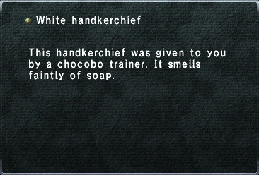 WhiteHanderchief