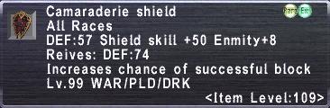 Camaraderie shield