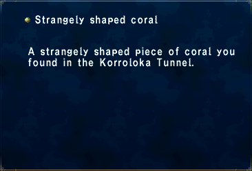 Strangely Shaped Coral