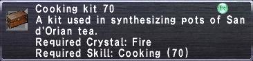 Cooking Kit 70