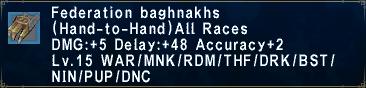 Federation Baghnakhs