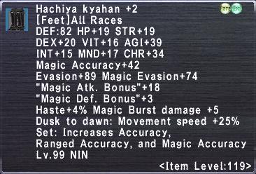 Hachiya Kyahan +2