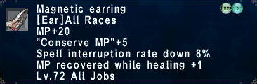 Magnetic Earring
