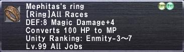 Mephitas's Ring