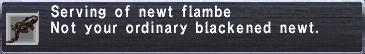 NewtFlambe