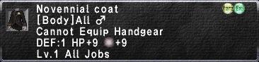 Novennial coat