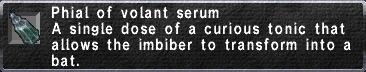 Volant Serum