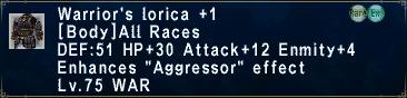 WarriorsLoricaPlus1