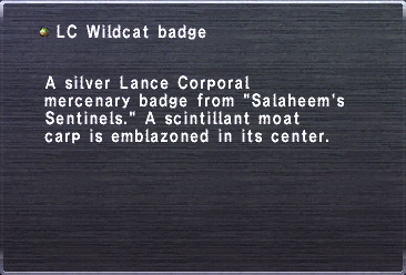 LC Wildcat Badge