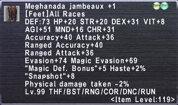 Meghanada Jambeaux +1