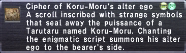 Cipher Koru Moru