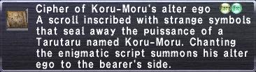 Cipher Koru Moru