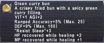 Green Curry Bun