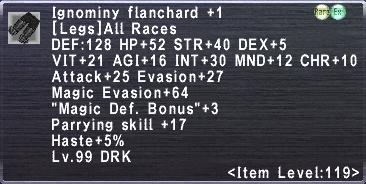 Ignominy Flanchard +1