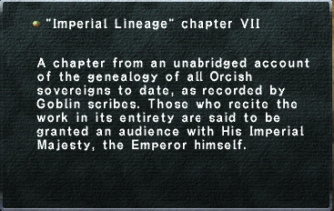 Imperial Lineage chapter VII