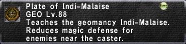Indi-Malaise