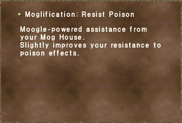 Moglification Resist Poison