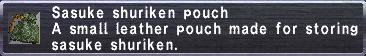 Sasuke Shuriken Pouch