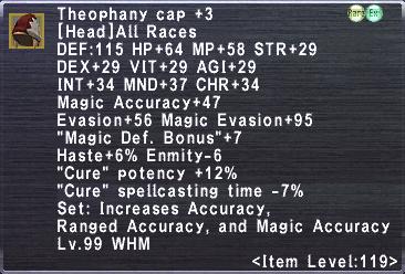 Theophany Cap +3