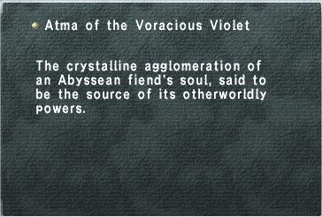 Atma Voracious Violet