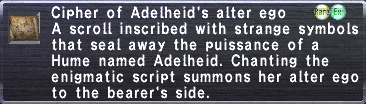 Cipher-Adelheid