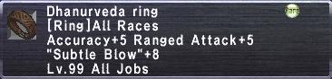 Dhanurveda Ring