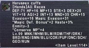 Haruspex Cuffs