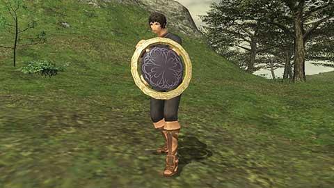 Kam'lanaut's Shield Appearance
