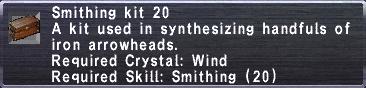 Smithing Kit 20