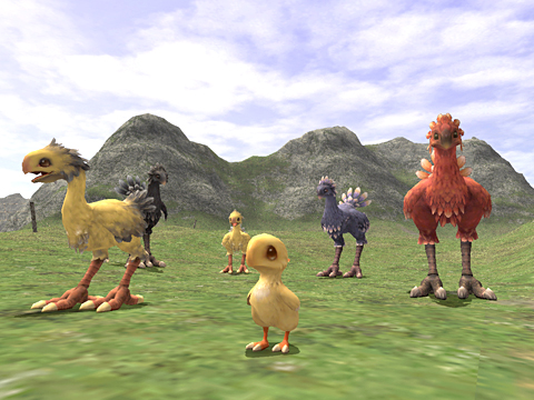 Chocobo Raising Changes and Additions (12-07-2006)-1