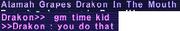 Drakon grape