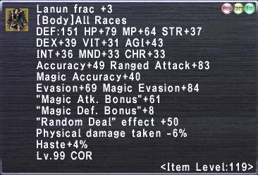 Lanun Frac +3