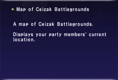 Map of Ceizak Battlegrounds