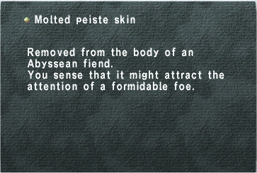 Molted Peiste Skin