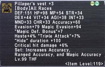 Pillager's Vest +3