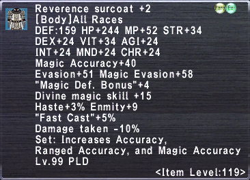 Reverence Surcoat +2