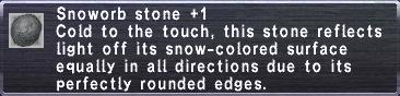 Snoworb Stone +1