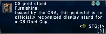 CSGoldStand