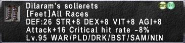 Dilaram's Sollerets
