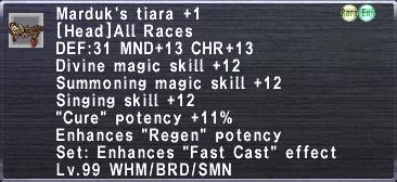 Marduk's Tiara +1