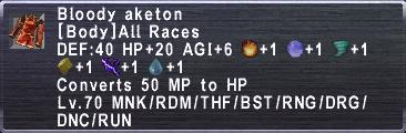 Bloody Aketon