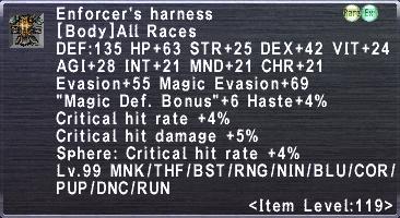 Enforcer's Harness