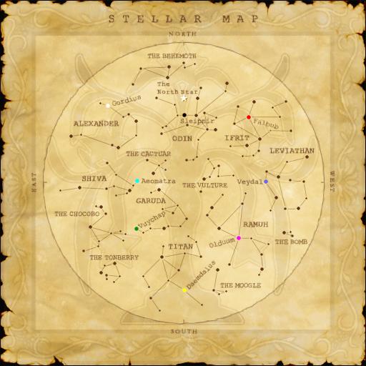 Stellar map