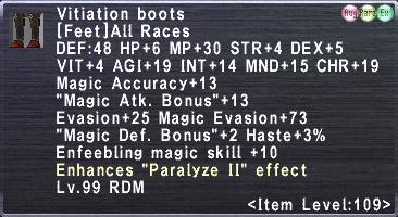 Vitiation boots (A)