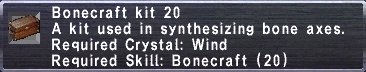 Bonecraft Kit 20