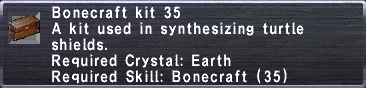 Bonecraft Kit 35