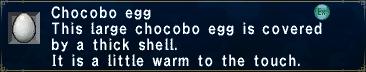 ChocoboEggLittleWarm